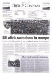 Calabria Ora: Gli Ultrà Scendono in Campo